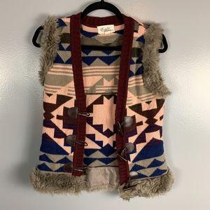 Boutique Forever 21 Aztec Vest Size S/P